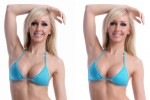 Bikini Retouching Enhancement