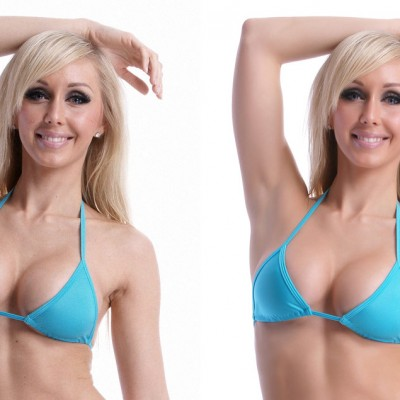 Bikini Retouching and Enhancement