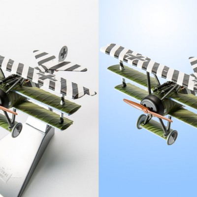 Toy Aeroplane Clipping and Retouching