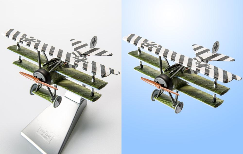 Toy Aero plane Clipping