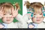 children-retouching