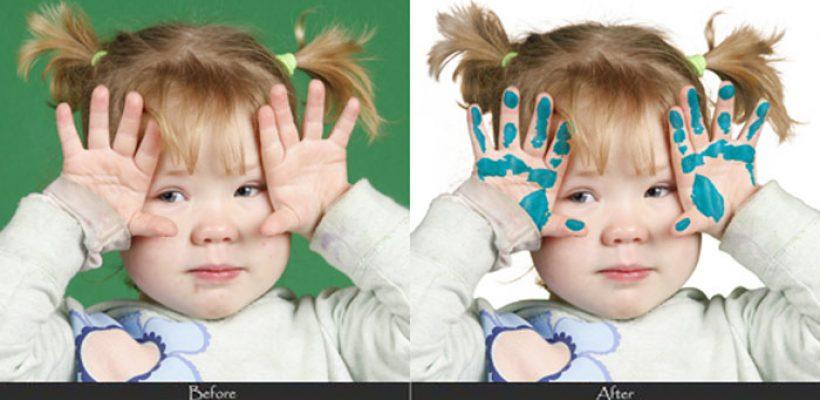 children-retouching